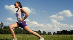 Lunges build flexibility