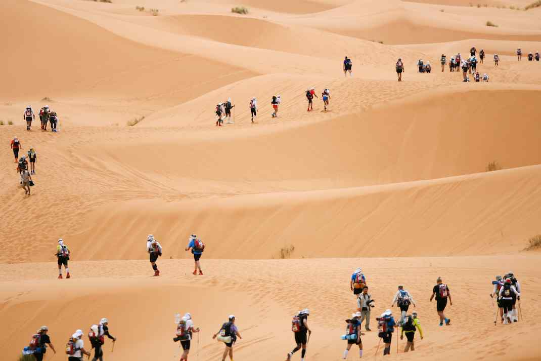 Running in the Sahara