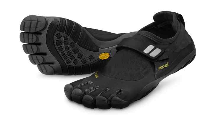 The renowned Vibram Five Fingers minimalist running shoe