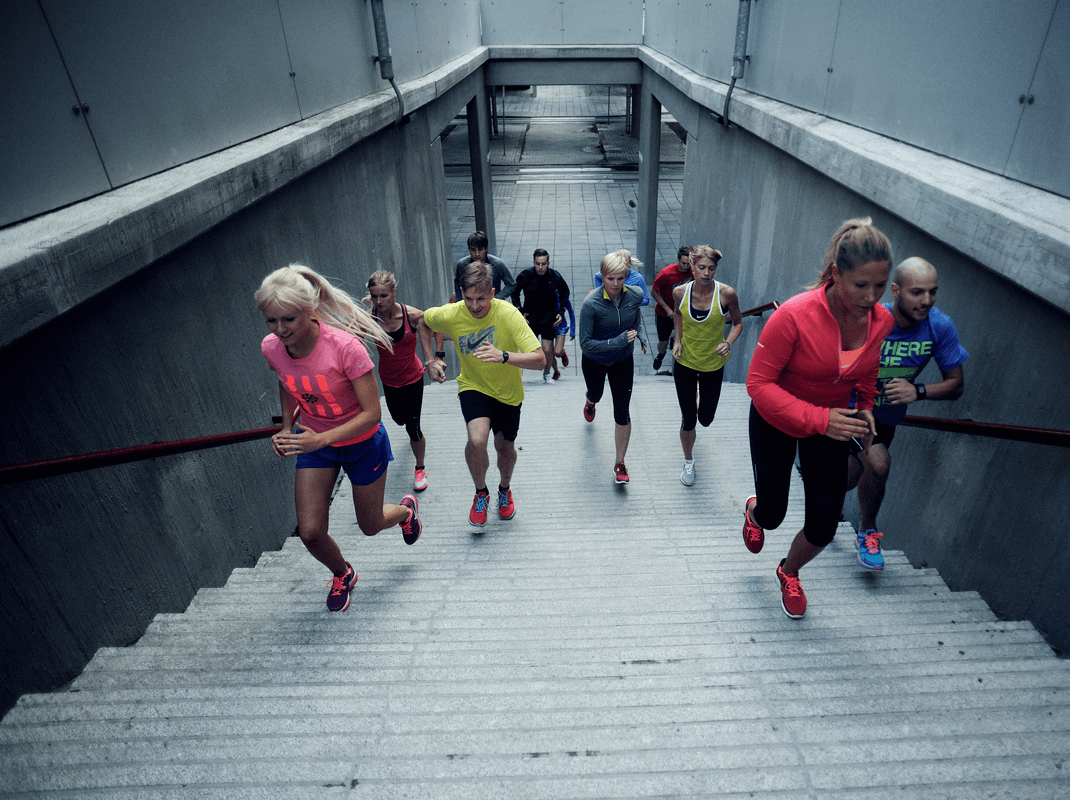 Join a running club (Image: Nike Running Club)