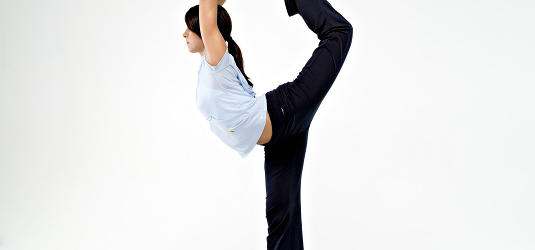 A bit of Yoga will improve your flexibility by a lot (Image: Reebok)