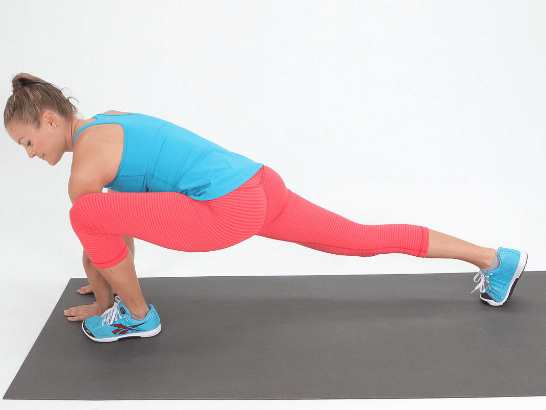 Finish with stretches every time you run