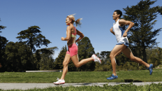 Start by increasing your training distance by 5-8% over the first few weeks