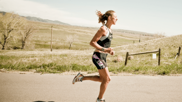 Run in race conditions to get used to the exertion