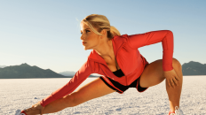 Warming up helps you recover from a run in a better shape