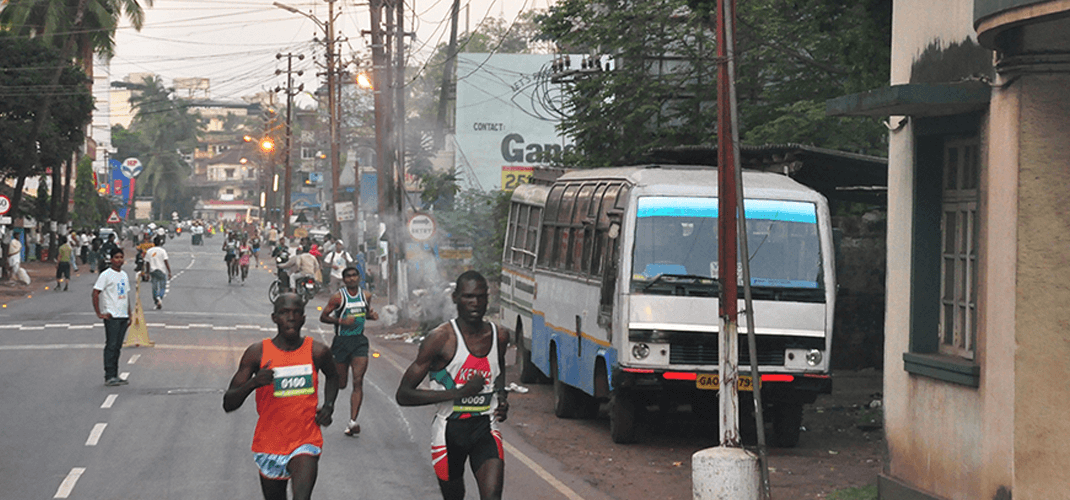 The acclaimed Goa River Marathon