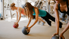 Mini medicine ball is a great fit for your home workouts