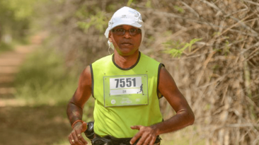 Dinesh Heda is one of the full marathon pacers at the 2016 Standard Chartered Mumbai Marathon