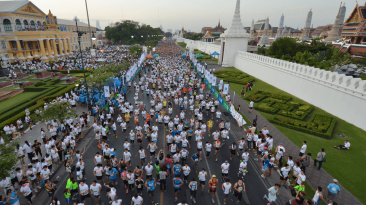 The 2015 Bangkok Half Marathon has the dubious tag of being the world's longest Half Marathon