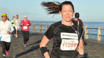 The endorphin rush from running counteracts the stress of smoking