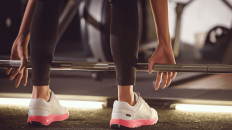 Samsung and Salted Ventures' new Iofit smart workout-tracking shoe will be launched at Mobile World Congress next week