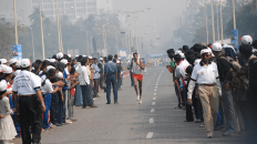 The IDBI Federal Life Insurance Kolkata Marathon in 2016