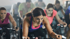 Customise your spin workout with intervals and recovery breaks