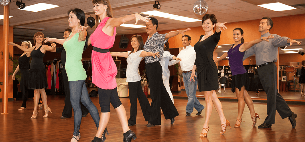 Ballroom dancing for fitness