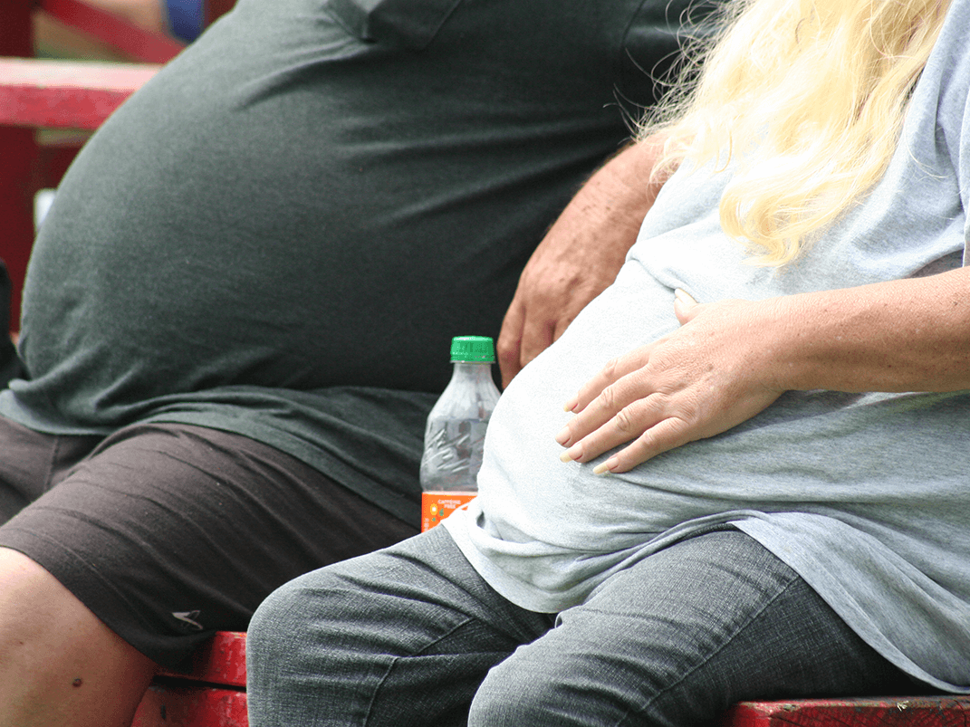 USA's obese population has grown at an alarming rate