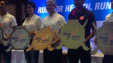 mobiefit and PNB Metlife launch Satara Hill Half Marathon at a press event in Mumbai