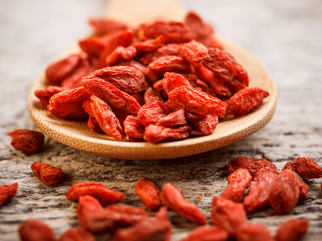Goji Berries are native to Asia