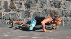 Reptile pushups - mobiefit BODY