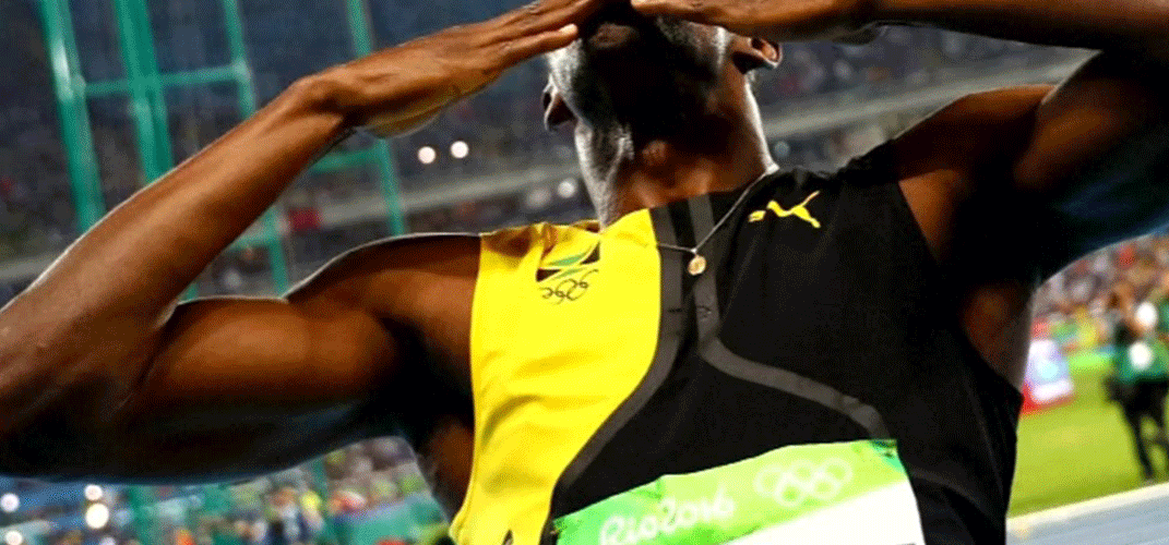 Usain Bolt won the triple-triple at Rio Olympics