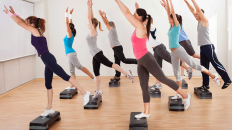 Step Aerobic workouts (Shutterstock)