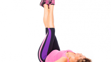Vertical Leg Lifts work on your core, thighs and calves
