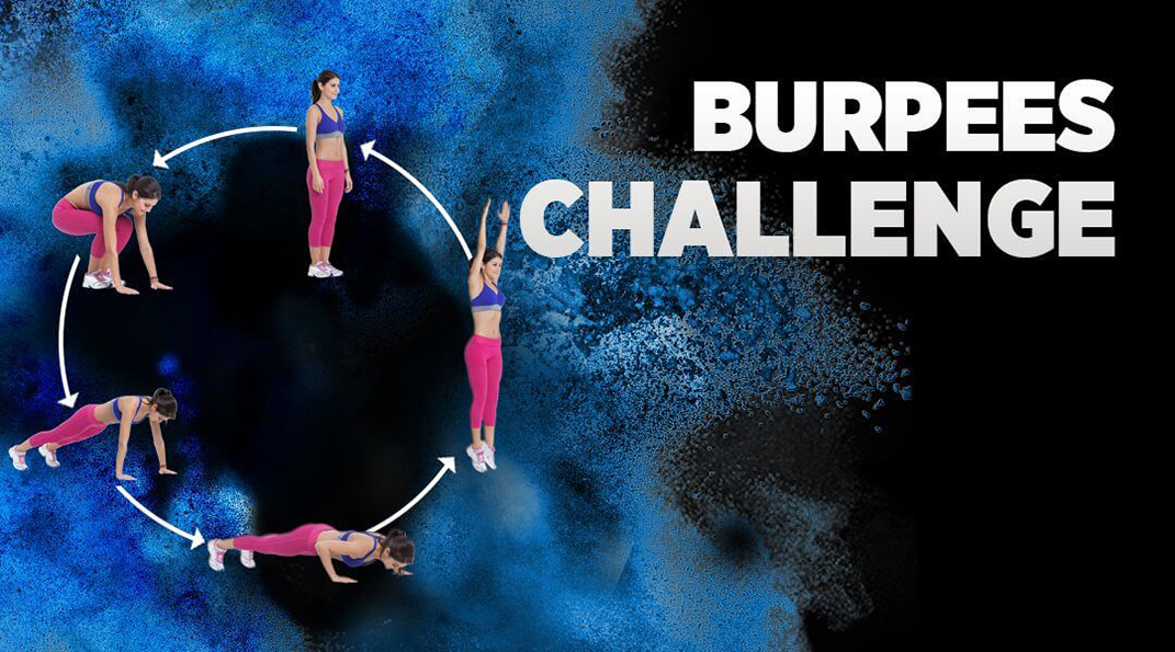 Can you do the most burpees in a minute