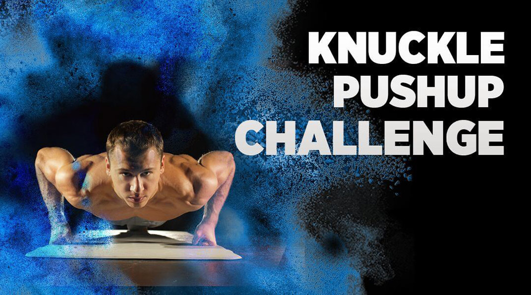 mobiefit BODY World Knuckle Pushup Challenge