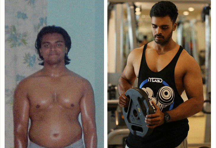 Sreejith Nair's transformation