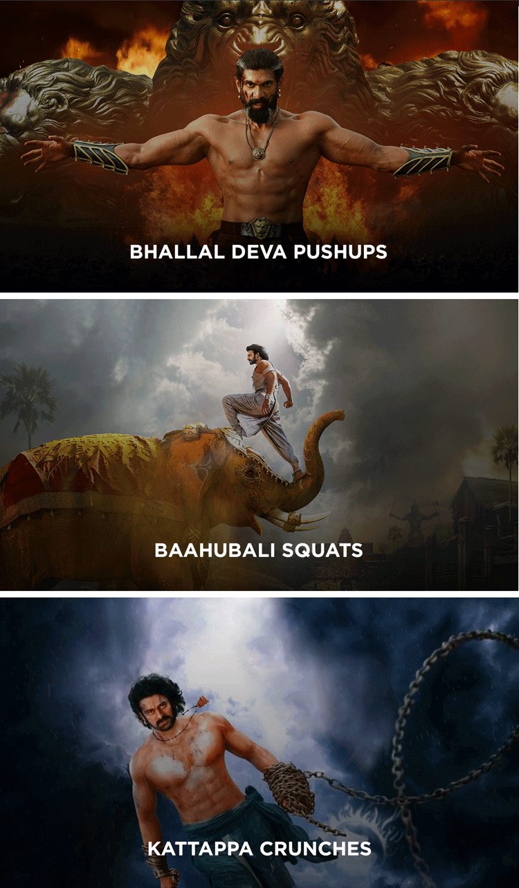 The Baahubali Series Challenges in mobiefit BODY