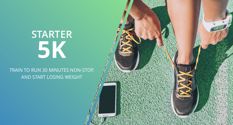 Starter 5K running program in the all-new mobiefit RUN